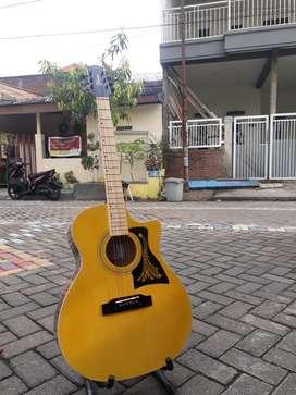 Gitar doubelrun mntab akustiktakamine