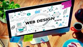 Required a developer and website designing