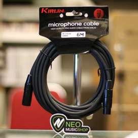 KIRLIN MP270-6M/BK 20AWG Microphone cable XRL M/F (bekas)
