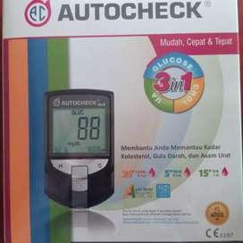 Autocheck alat tes darah