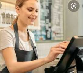 Cashier required for restaurant in karelibuag