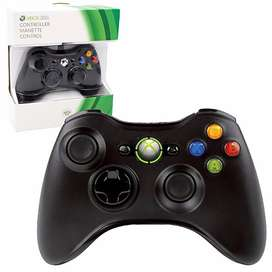 Wired Controller For Windows And Xbox 360 - Black (Pc)