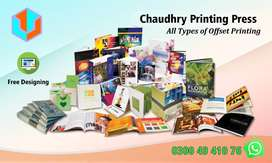 Offset Printing, Labels, Letterhead, Posters, Magazine, Sticker, Cards