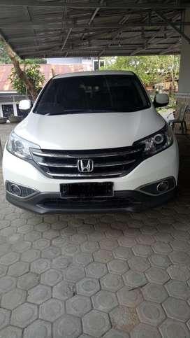 Honda crv 2.0 matic prestige tahun 2014 putih Dp 35 angs 6,9