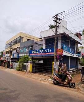 Commercial space for rent in Kottiyam .