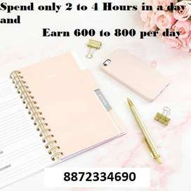 Offering Part/Time Work From Home Pune City