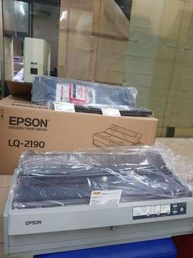 Sale murah Printer Dotmatrix A3 Epson LQ 2190 fullset dus garansi 1th