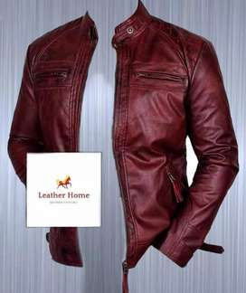 Men genuine Leather jackets...All sizes available
