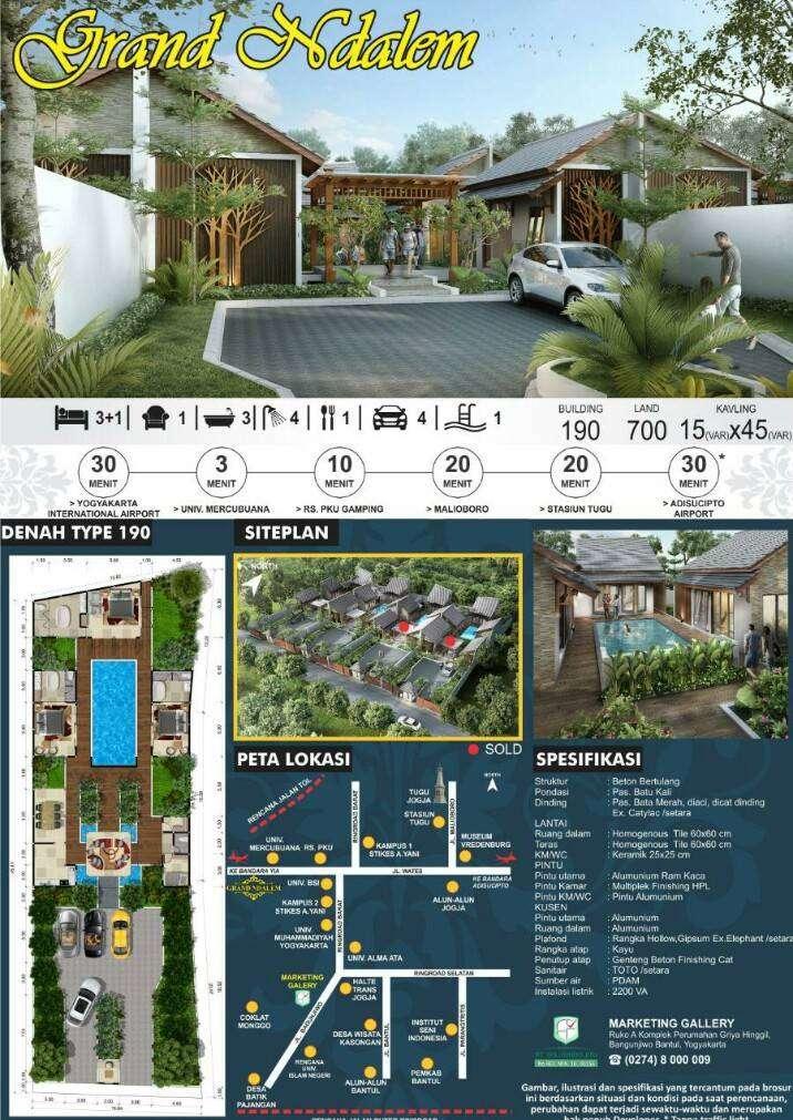 Grand Ndalem Residence (YOG 622) 0
