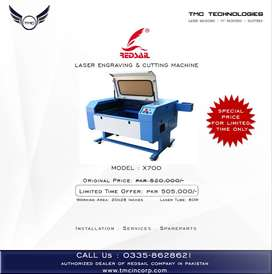 LASER ENGRAVING & CUTTING MACHINE,. Peshawar.