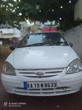 Tata Indica DLE White Colour