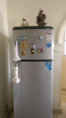 5star whirlpool fridge with excellent condition 280 L