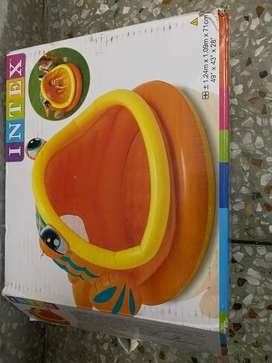Intex lazy fish pool for kids upto 4 years age