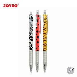 Gel pen/Pulpen/pena joyko GP-204/savanna/0.5 mm/1Box 12pcs Free ongkir