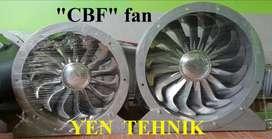 manufaktur axial drum fan 24 inch 4 kw 1400 rpm