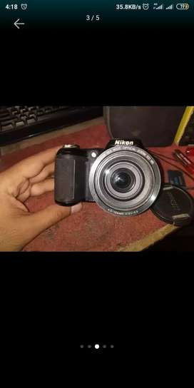 Nikon l330 DSLR camera exchange possible with laptop or phone