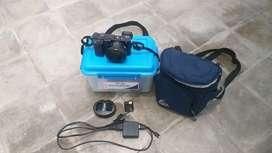 Sony Alpha A6000 black + lens kit 16-50mm