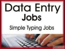 Home based data typing jobs available