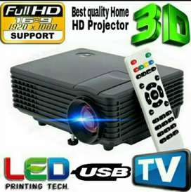1800LM 1080P HD LED PROJECTOR BEST FOR SCHOOL/CLASS/HOME/HOTEL/GAME