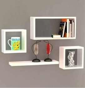 Floating shelf (rak gantung)