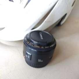 Lensa fix canon 50 f1.8