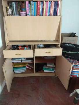 Wooden almirah cabinet for multipurpose