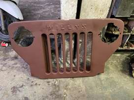 Original high bonnet grill with willyz print