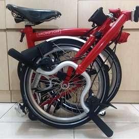 Brompton M6L 2019 - Merah