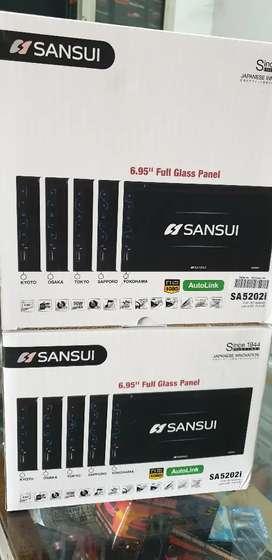 2din Dvd TV Glasspanel Sansui AutoLink