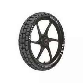 New Ceat tyre for Bajaj Discover