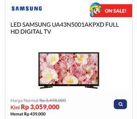 Kredit TV LED SAMSUNG UA43N5001AKPXD FULL HD DIGITAL TV