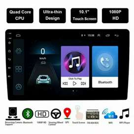 Head Unit 10 inch Double Din Android 8.1 MP5 Wifi GPS Radio Bluetooth