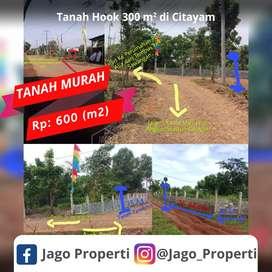 Dijual Cepat Tanah Murah Hanya 600 Ribu PerMeter Lokasi Citayam