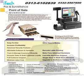 pos complete software and hardware available for fast food,store,pharm