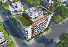 RERA APPROVED 3BHK Luxurious Apartment Two type of flat available