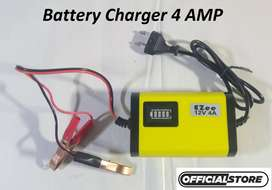 New Auto Shut down All DIGITAL Universal 12V Automatic Battery Charger