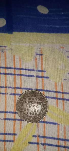 BRITISH ERA INDIAN COINS ( VINTAGE COLLECTION )