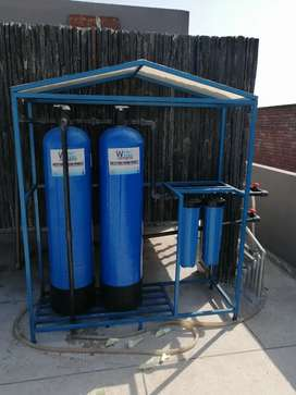 Water softing plant whole house filtration