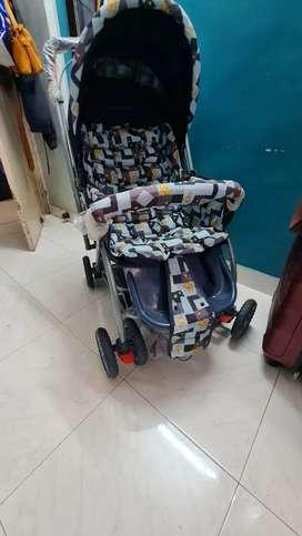 Luvlap Baby Pram/Stroller (New born to 5 years)