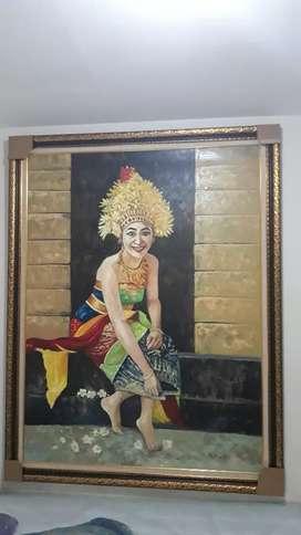Lukisan 2 x 1,5 meter