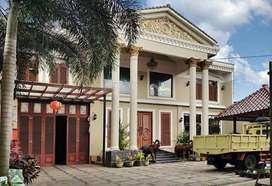 Rumah Mewah + Gudang Besar 1420m2 Dekat Proyek Exit Toll Jogja - Bawen