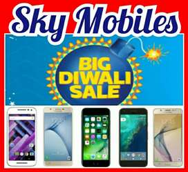 SKY MOBILES, BIG DIWALI SALE, 4G MOBILES Rs.3,OOO onwards, COIMBATORE