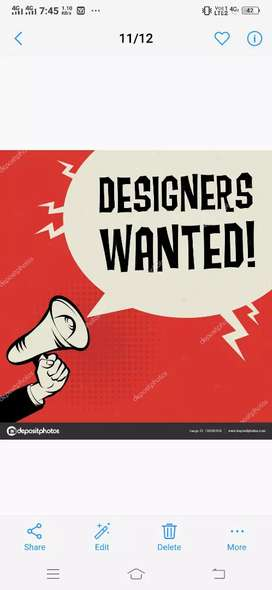 GRAPIC DESIGNER / DTP OPERATOR  /CORELDRAW &PHOTOSHOP MUST