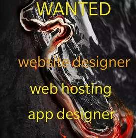 Website designer ,web hosting, app designer