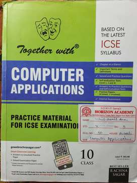 Together With Computer Applicatins Class 10 Icse