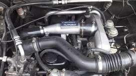 Isuzu phanter pick up turbo 2013 bak datar plat nomor G pemalang
