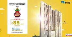 Grand 2 Bhk Spacious flat available for sale at Vartak nagar Thane