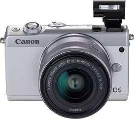 Kredit kamera Bandung Canon Eos M100 Tanpa kartu kredit Bunga 0%