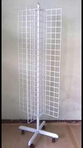 Display model ram putar tinggi 150cm