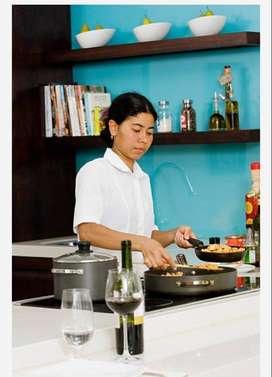 cooking and safaai ka kaam hai full time 24 hrs job hai only